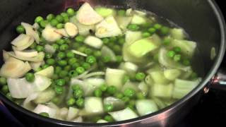 Vegetarian Arugula Green Bean Soup By Chef Alex Mok
