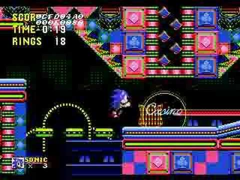 Similar to Sonic 2 Music Casino Night Zone (2-player)