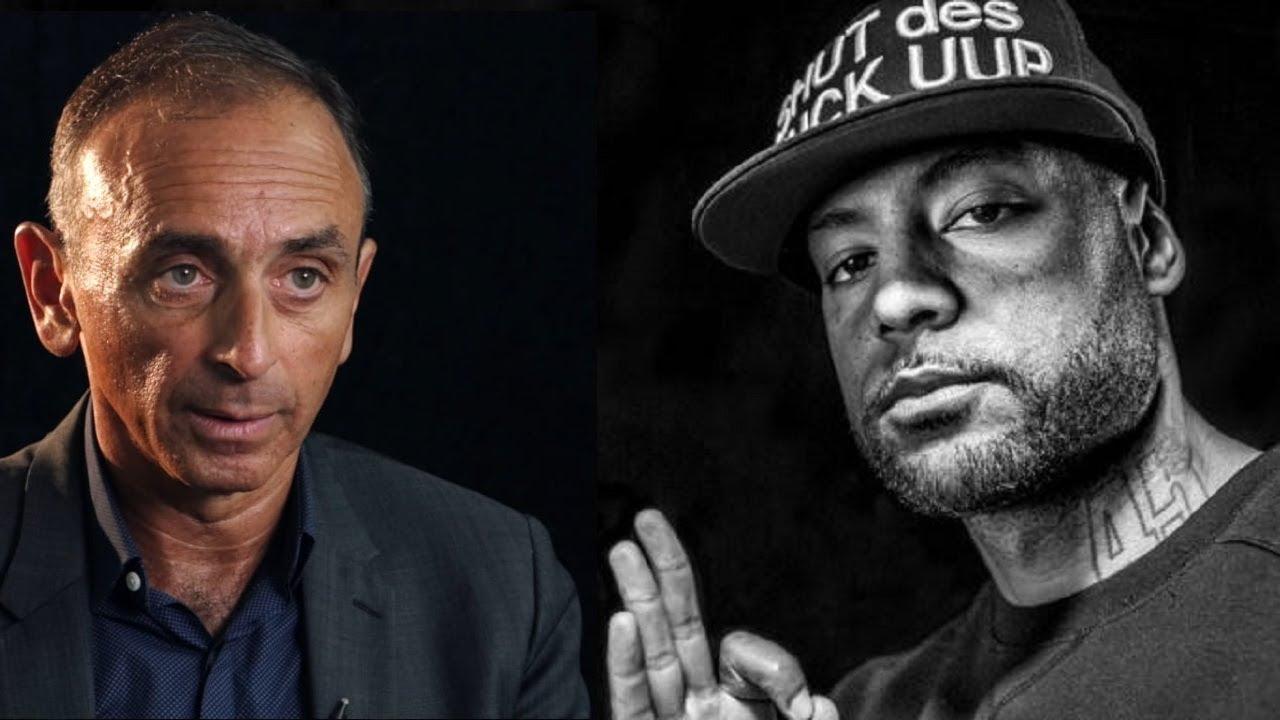 Zemmour clashe les rappeurs français : Booba, Maitre Gims, Soprano, PNL, MHD...
