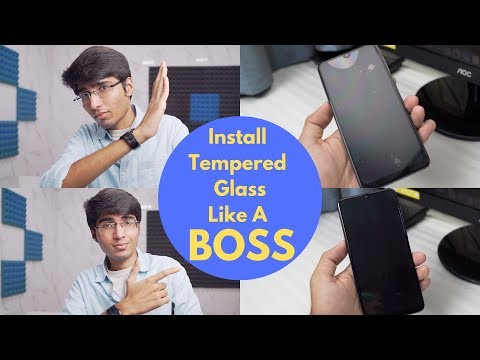 How To Install Tempered Glass Like A Pro! No Air Bubbles