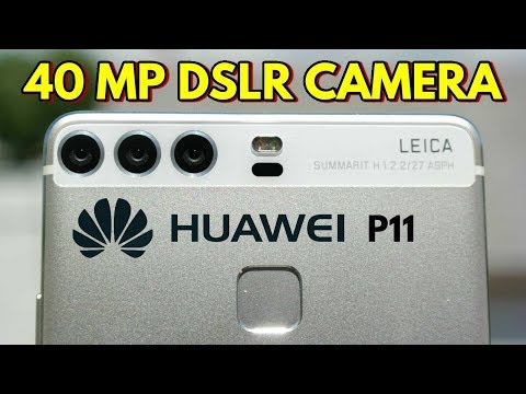 Huawei P11 - NIGHTMARE IS HERE!!! 40MP DSLR KILLER SMARTPHONE!!!