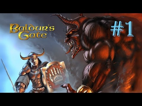 Baldur's Gate Enhanced edition №1 {Создание персонажа и первые шаги}