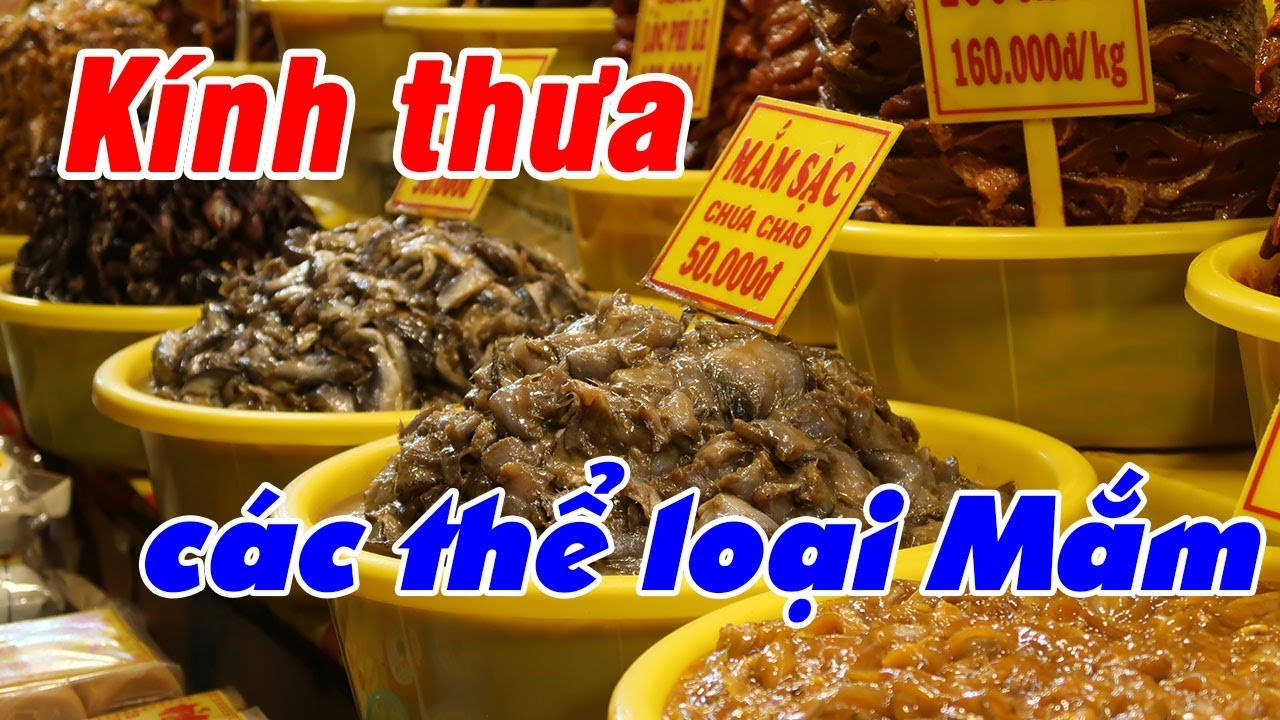 Đặc sản mắm Châu Đốc - Bà Giáo Thảo 11111 | Du Lịch Ăn Uống An Giang #08