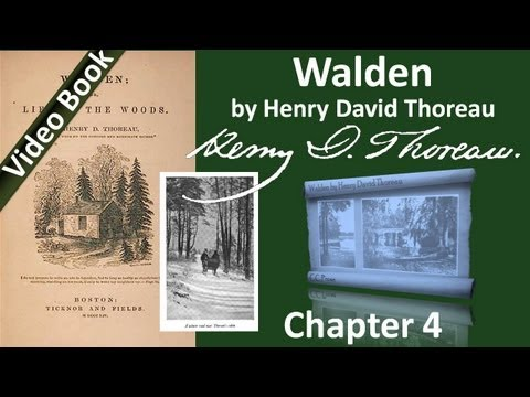 Chapter 04 - Walden by Henry David Thoreau - Sounds