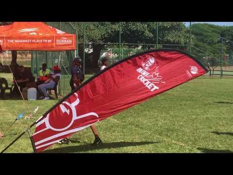 The KFC mini cricket tournament at Hoy sports park in Durban.