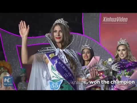 Miss Ukraine won the champion of Miss Model of the World
