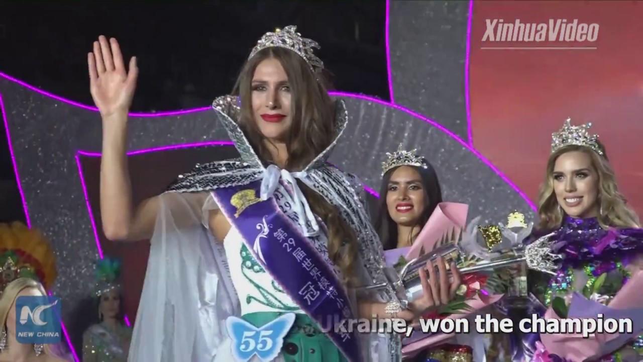 Miss Ukraine won the champion of Miss Model of the World