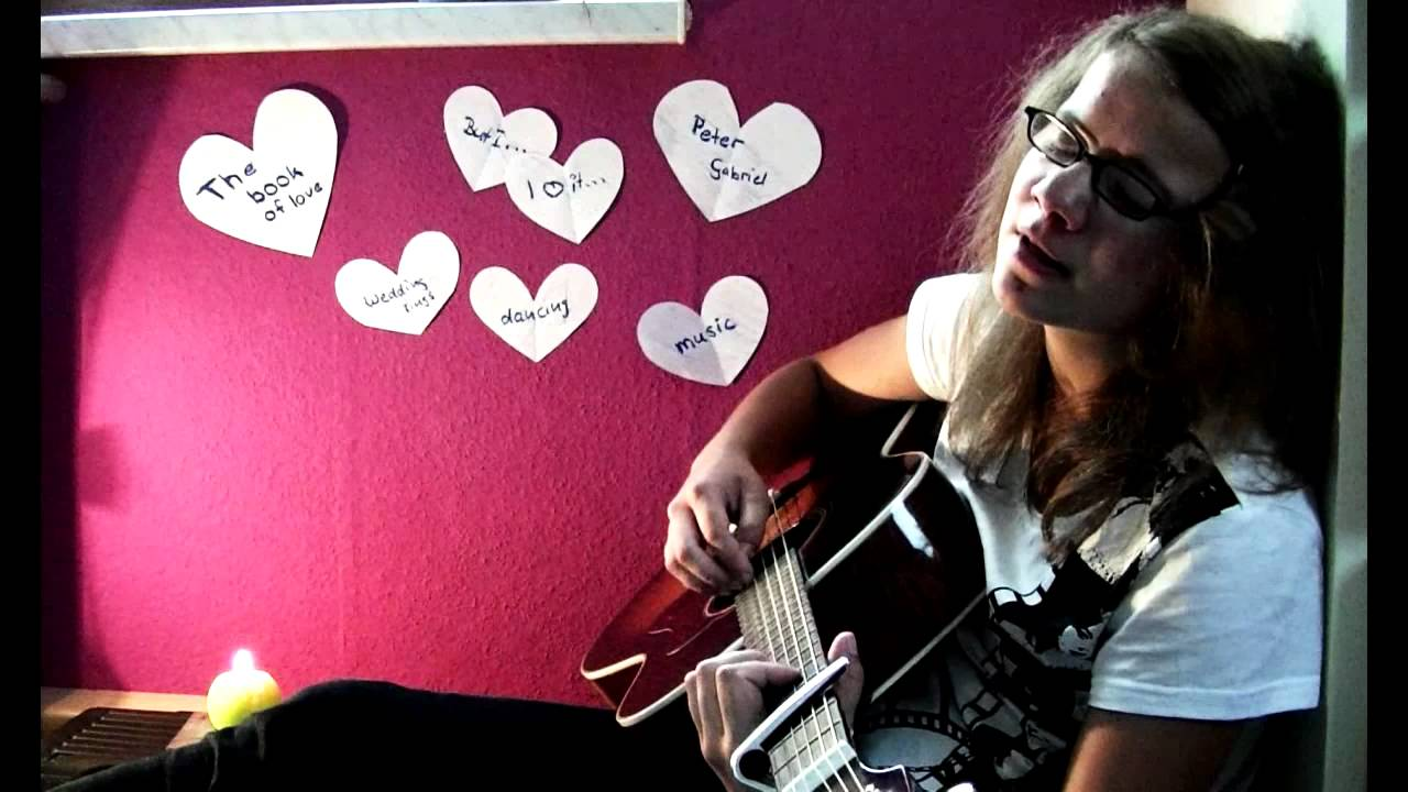 Book Of Love Cover Acoustic ~ Peter gabriel the book of love acoustic cover youtube