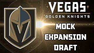 Vegas Golden Knights Mock Expansion Draft