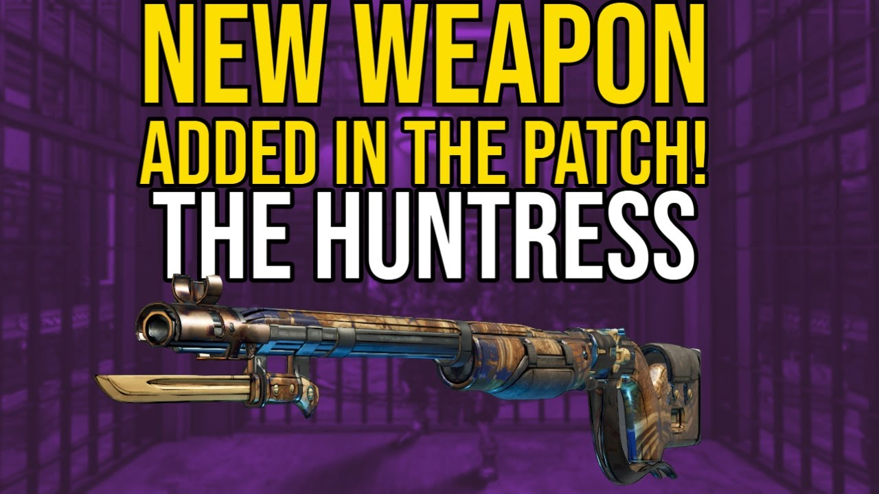 NEW SNIPER NOT MENTIONED IN THE PATCH! // Borderlands 3 Huntress Weapon Review! thumbnail