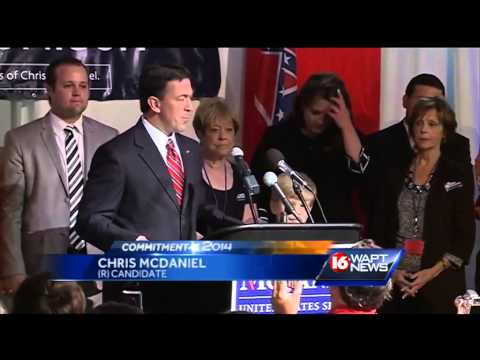 Chris McDaniel does not concede Mississippi Senate race to Thad Cochran