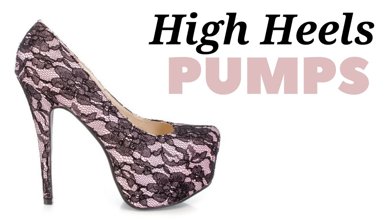 High Heels Pumps: High Heels Under $10 - YouTube