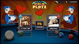 A Game with my girlfriend 😍 ,  guess what !? 💔 | 8 ball pool by miniclip.{لعبت بلياردو مع صديقتي)