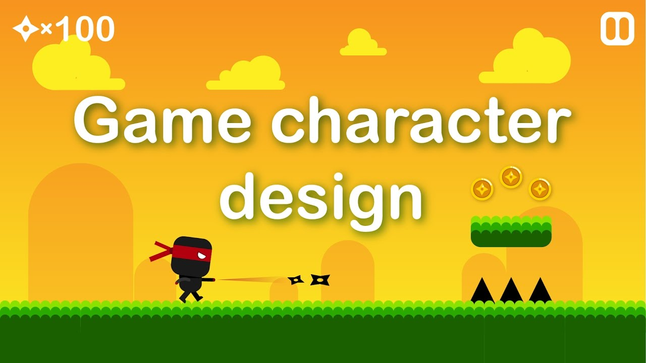 Procreate Character Design Tutorial : D ninja character design tutorial youtube