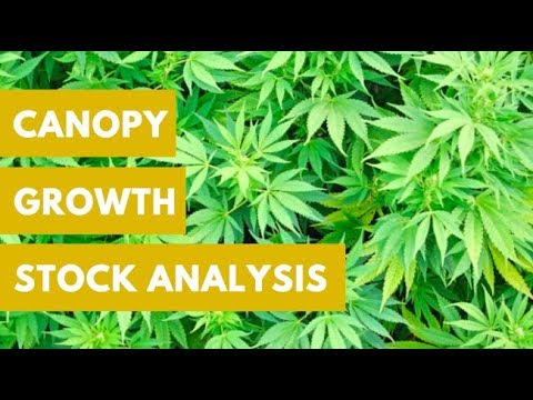 MARIJUANA STOCKS SECTOR ANALYSIS - CANOPY GROWTH STOCK