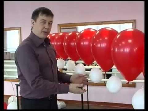 Как сделать арку из воздушных шаров своими руками Вяжем детям платья