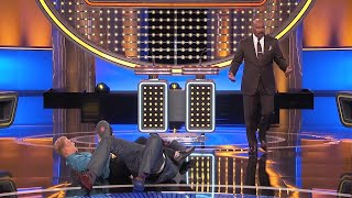 INSANE MOMENT! They're FIGHTING on the Feud stage! | Family Feud