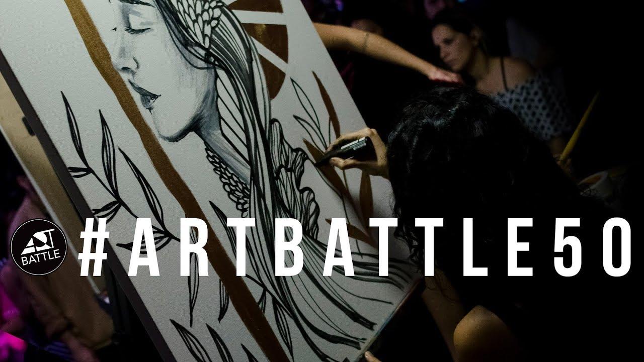 Art Battle Brasil #50 - 18/10/2018