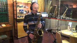 Autumn Leaves Jazz Backing Track - played on a 1950's Selmer Mk 6
