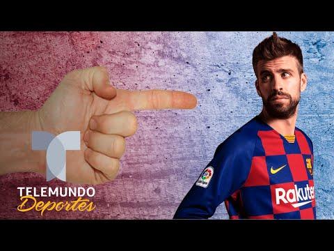 Los pretextos de Gerard Piqué y el Barcelona   Telemundo Deportes