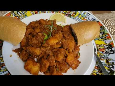 How to cook Ethiopian food asa gulashe  አሳ ጉላሽ