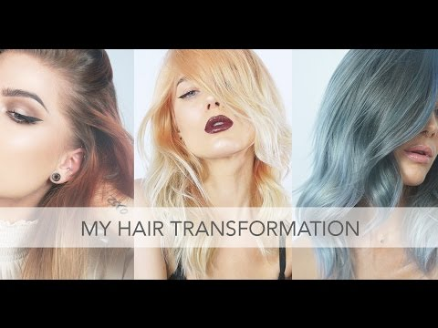 Vlog | Hair Transformation: From Rose Golden To Cool Blue/Grey