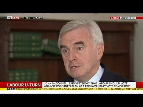 Shadow Chancellor John McDonnell On Labour