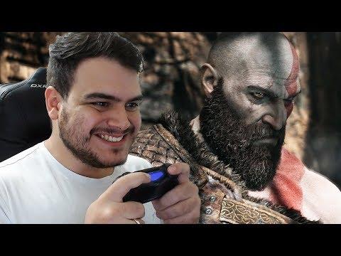 UM NOVO COMEÇO PARA KRATOS! - GOD OF WAR PS4 - PARTE 1