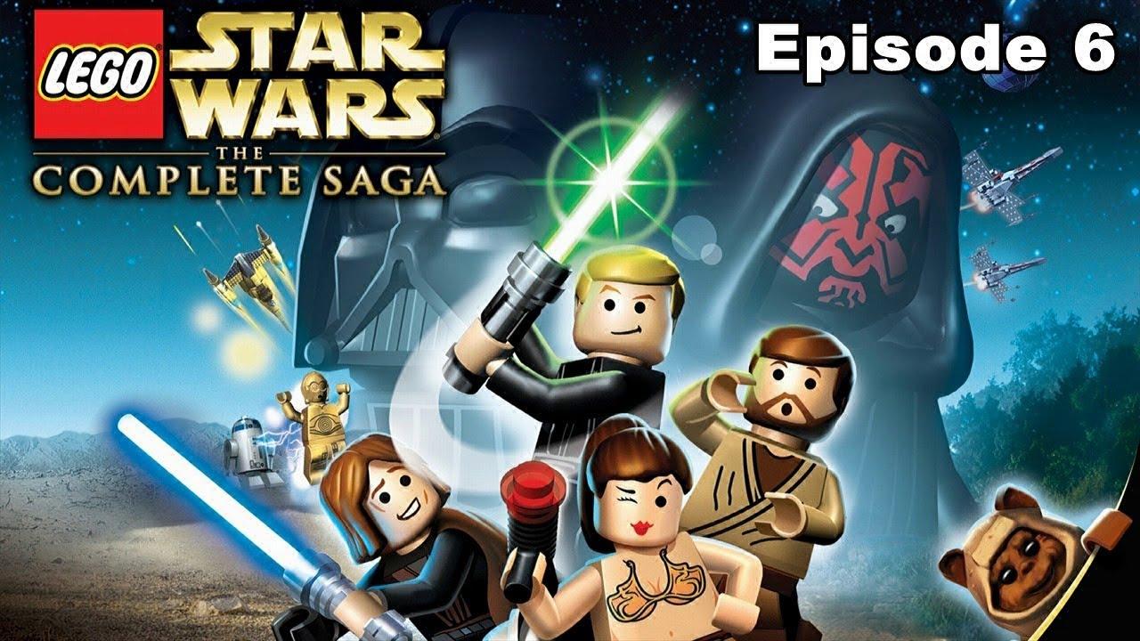 e69d2b2c9357 Lego Star Wars The Complete Saga Walkthrough - Episode 6 Return Of The Jedi  - YouTube