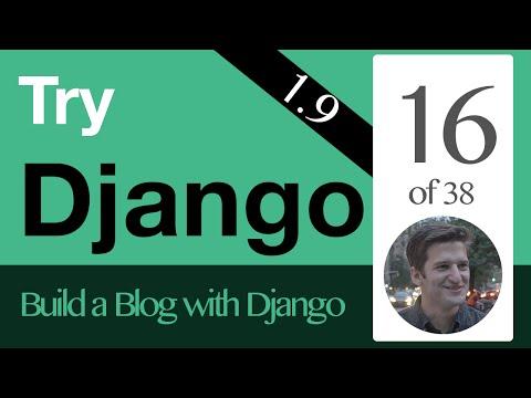 Try Django 1.9  - 16 of 38 - QuerySet Basics