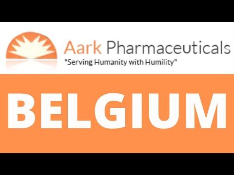 Aark Pharmaceuticals: Best Pharmaceutical exporter in Belgium