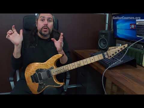 TT16 Add9 arpeggio Polyrhythmic melodic lick (Petrucci, Govan Style)