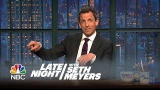 Seth's Story: The Late Night Writers Photobomb Seth - Late Night with Seth Meyers