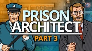Prison Architect | KEEPING STAFF HAPPY (#3)
