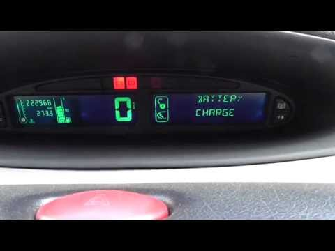 Battery Charge Fault - warning (Xsara Picasso)