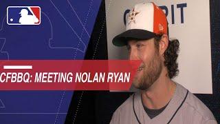 Gerrit Cole, Mitch Moreland on meeting Nolan Ryan