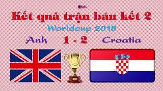Kết quả trận bán kết Anh và Croatia ✔️ Khánh Nhi Vlog tổng hợp