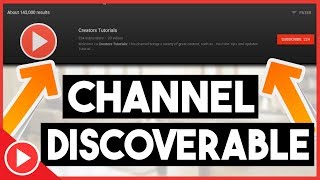 How To Make Your Channel Discoverable In Search