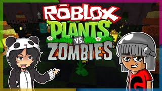 Roblox - JOGANDO PLANTS VS ZOMBIES. (Ft. Godenot)