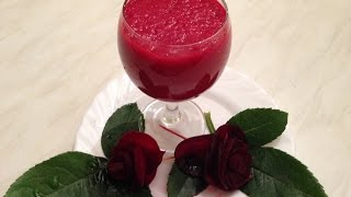 How To Make Fresh Beet Juice With A Blender