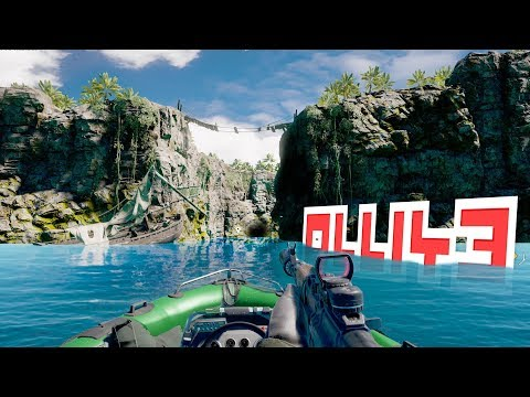 Far Cry 5  - EXPLORING THE SECERT TOMB ISLAND