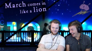 SOS Bros React - March Comes Like a Lion Season 1 Episode 10 - Rei-ge Against Weakness!!