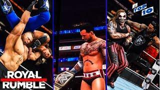 WWE 2K20 Royal Rumble 2020 Top 10 Predictions!