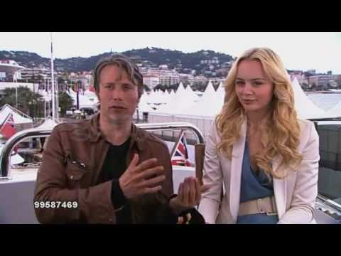 Mads Mikkelsen Moomins and the Comet Chase Cannes 2010
