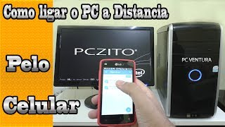 Como ligar e controlar o PC pelo celular a distancia Windows 10 (Wake on lan)