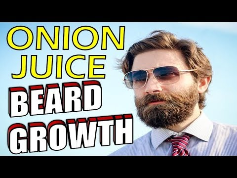 How to Grow a Better Beard with ONION JUICE | NATURAL HAIR GROWTH TRICK