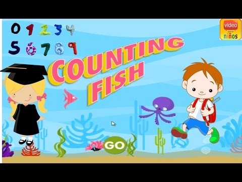 Counting Fish Games Kids Youtube