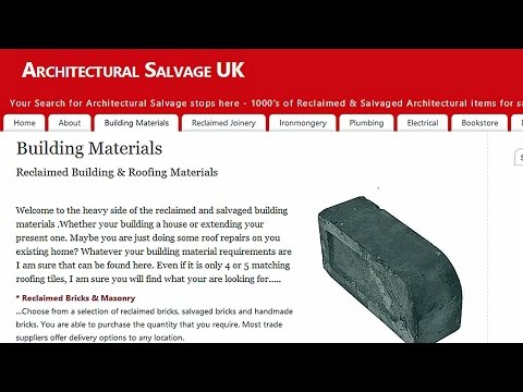 Architectural Salvage UK | Reclaimed Building Materials | Bu