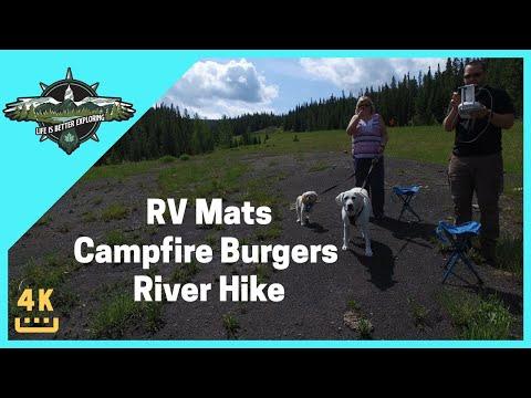 diy-rv-mats,-campfire-burgers,-mountain-and-river-hike---s1-e0