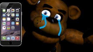 - Freddy Fazbear has no iphone